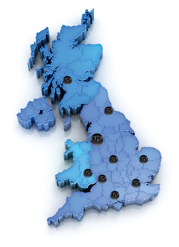 APL Group UK Map